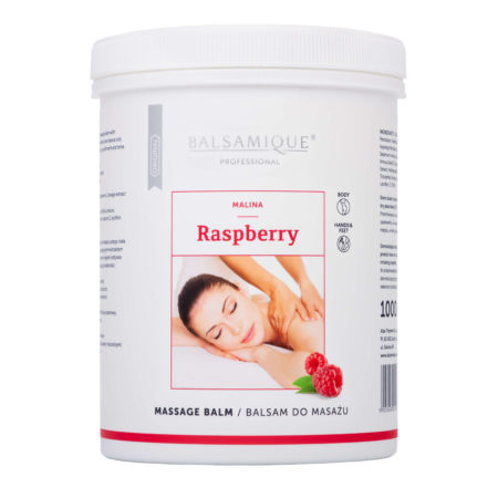 Balsamique balsam do masażu o zapachu malinowym 1000ml