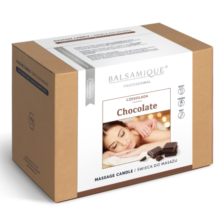 wizualizacja swieca czekolada