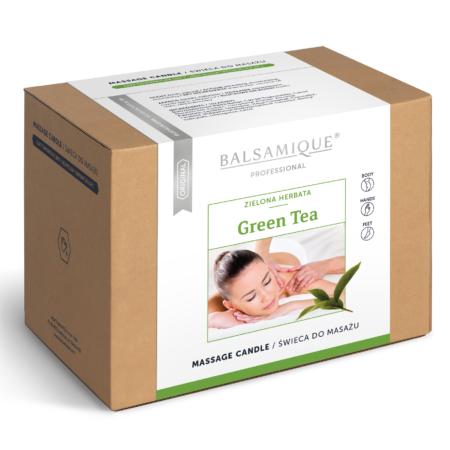 wizualizacja swieca zielona herbata