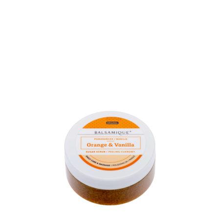 Balsamique Peeling cukrowy o zapachu pomarańczy i wanilii