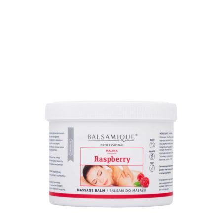 Balsamique balsam do masażu o zapachu malinowym 500ml