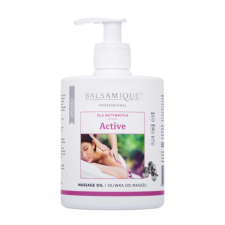 Balsamique Active oliwka do masażu 500ml