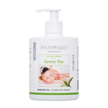 Balsamique oliwka do masażu o zapachu zielonej herbaty 500ml